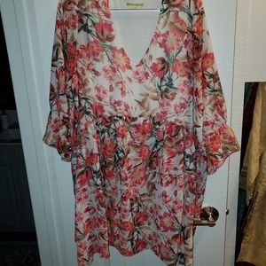 Gianni Bini Floral Mini Dress